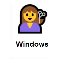 Person Getting Haircut on Microsoft Windows