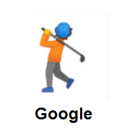 Person Golfing on Google Android