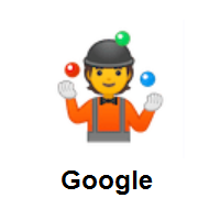 Person Juggling on Google Android