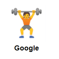 Person Lifting Weights on Google Android
