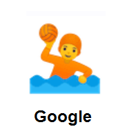 Person Playing Water Polo on Google Android