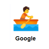 Person Rowing Boat on Google Android