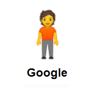 Person Standing on Google Android