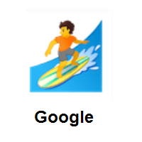Person Surfing on Google Android
