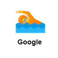 Person Swimming on Google Android