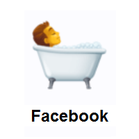 Person Taking Bath on Facebook