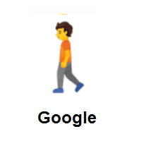 Pedestrian: Person Walking on Google Android