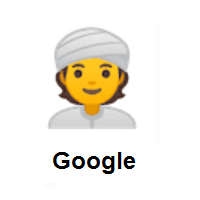 Person Wearing Turban on Google Android