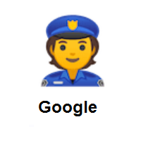Police Officer on Google Android