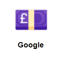 Pound Banknote on Google Android