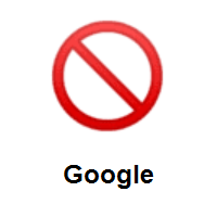 Prohibited on Google Android