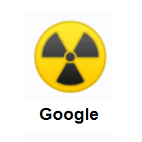 Radioactive Sign on Google Android