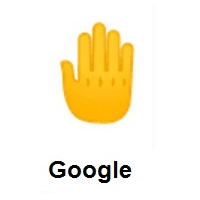 Raised Back of Hand on Google Android