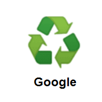 Recycling Symbol on Google Android