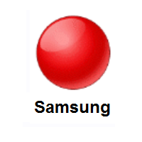 Red Circle on Samsung