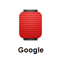 Red Paper Lantern on Google Android