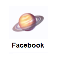 Saturn: Ringed Planet on Facebook