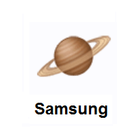 Saturn: Ringed Planet on Samsung