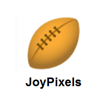 Rugby Football on JoyPixels