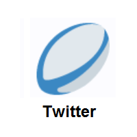 Rugby Football on Twitter Twemoji