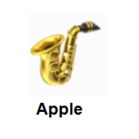Saxophone on Apple iOS