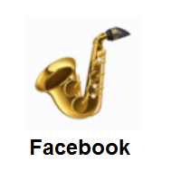 Saxophone on Facebook