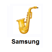 Saxophone on Samsung