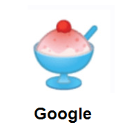 Shaved Ice on Google Android