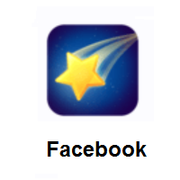 Shooting Star on Facebook