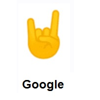 Sign of The Horns on Google Android