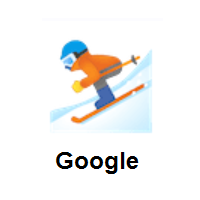 Skier on Google Android