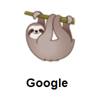 Sloth on Google Android