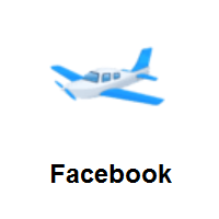 Small Airplane on Facebook