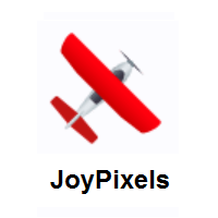 Small Airplane on JoyPixels