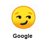 Smirking Face on Google Android