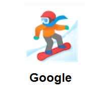 Snowboarder on Google Android