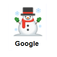 Snowman on Google Android