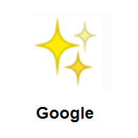 Sparkles on Google Android
