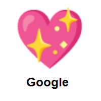 Sparkling Heart on Google Android