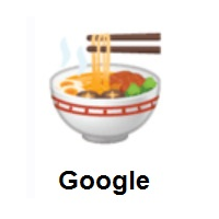 Steaming Bowl on Google Android