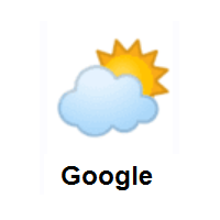 Cloud Cover: Sun Behind Cloud on Google Android