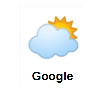 Sun Behind Large Cloud on Google Android