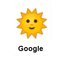 Sun With Face on Google Android