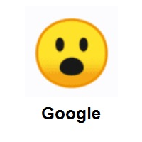 Surprised Face on Google Android