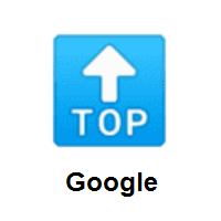 TOP Arrow on Google Android