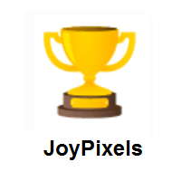 Trophy on JoyPixels
