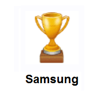 Trophy on Samsung