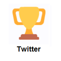 Trophy on Twitter Twemoji