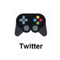Video Game on Twitter Twemoji