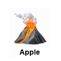 Volcano on Apple iOS